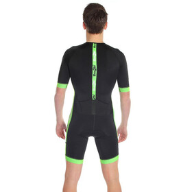 Dare2Tri Coldmax SS Tri Suit Men black/green